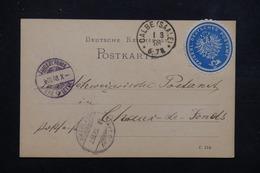ALLEMAGNE - Carte De Correspondance En Poste Privée De Calbe Pour Chaux De Fonds En 1888 - L 23014 - Private