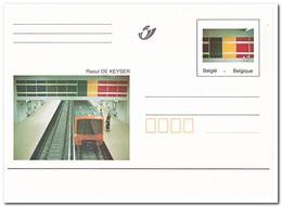 België, Trains - Entiers Postaux