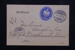 ALLEMAGNE - Carte De Correspondance En Poste Privée De Dresden En Port Local En 1904 - L 23016 - Private