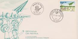 Brazilië 1978 FDC - Brieven En Documenten