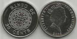 Solomon Islands 20 Cents 2008. High Grade - Salomonen