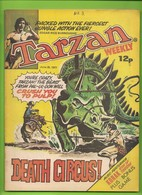 Tarzan Weekly # 3 - Published Byblos Productions Ltd. - In English - 1977 - BE - Livres, BD, Revues