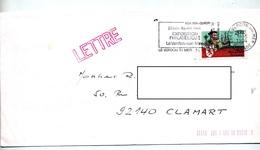 Lettre Flamme Le Verdon Exposition Philatelique - Marcophilie (Lettres)