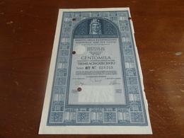 BUONO DEBITO PUBBLICO CENTOMILA -1968 - Industrie
