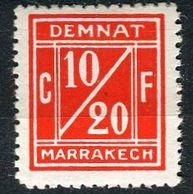 Maroc, Postes Locales, N° 001A* Y Et T, 1A - Postes Locales & Chérifiennes