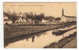 BLATON - Canal De Pommeroeul à Antoing Et Mont-St-Antoine - Bernissart