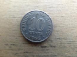 Trinite & Tobago  10  Cents  1966  Km 3 - Trinité & Tobago