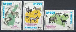 °°° LOT ETIOPIA ETHIOPIA - Y&T N°1509A/C/D - 1999 °°° - Etiopia