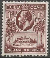 Gold Coast. 1928 KGV. 1d MH. SG 104 - Gold Coast (...-1957)