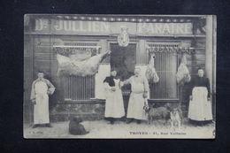FRANCE - Carte Postale - Troyes - Boucherie Chevaline - Julien Paratre 31 Rue Voltaire ( Devanture Animée ) - L 23024 - Troyes