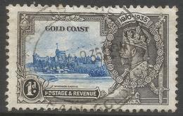 Gold Coast. 1935 KGV Silver Jubilee. 1d Used. SG 113 - Gold Coast (...-1957)