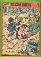 Tarzan Weekly # 6 - Published Byblos Productions Ltd. - In English - 1977 - BE - Livres, BD, Revues