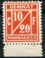 Maroc, Postes Locales, N° 001A** Y Et T, 1A - Maroc (1891-1956)