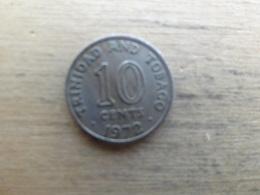 Trinite & Tobago  10  Cents  1972 Km 11 - Trinité & Tobago