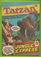 Tarzan Weekly # 11 - Published Byblos Productions Ltd. - In English - 1977 - BE - Livres, BD, Revues