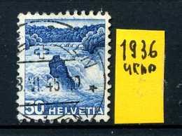 SVIZZERA - HELVETIA - Year 1936 - Viaggiato - Traveled - Voyagè - Gereist. - Usati