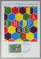Cartolina Maximum - Liechtenstein 1960 - Europa - Annullo Primo Giorno FDC - Unclassified