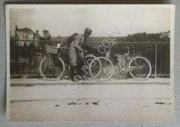 Fotografia - Italia Anni 20 / 30 - Ciclista - Foto Originale - Foto