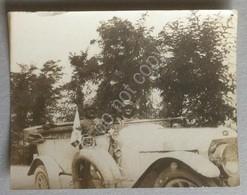 Fotografia - Italia Anni 20 / 30 - Auto D'epoca Con Passeggeri - Foto
