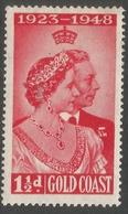 Gold Coast. 1948 KGVI Silver Jubilee. 1½d MH. SG 147 - Gold Coast (...-1957)