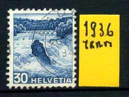 SVIZZERA - HELVETIA - Year 1936 - Viaggiato - Traveled - Voyagè - Gereist. - Switzerland