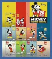 Portugal   2018 , 90 Years Of Magic - Mickey The True Original - Sheet / Block - Postfrisch / MNH / (**) - 1910-... Republik