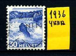 SVIZZERA - HELVETIA - Year 1936 - Viaggiato - Traveled - Voyagè - Gereist. - Usados