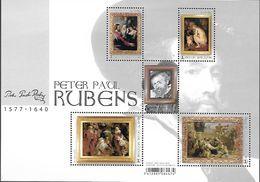 Belg. 2018 - COB N° BL262 ** - Rubens (timbres 4765 à 4769) - Belgium