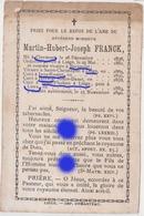 Abbé Franck Né à Clermont En 1836 Vicaire à Sprimont Curé à Ivoz Ramet  à Herstal à Liège Puis à Liers Y Dcd En 1890 - Décès