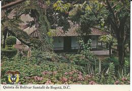 Colombia Bogota - House,Donated To Liberator Simon Bolivar Via Yugoslavia 1994 - Colombia