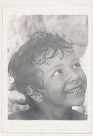 REAL PHOTO, Smile BOY Kid Beach Portrait GARCON,  Old  Photo ORIGINAL - Personnes Anonymes