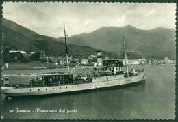 CARTOLINA - CV697 FORMIA (Latina LT) Panorama Del Porto, FG, Viaggiata 1953, Ottime Condizioni - Latina