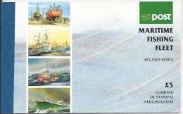 Irlande 1991 Carnet N°774 Neuf ** Bateaux De Pêche - Carnets