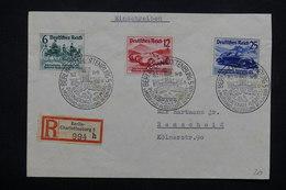 ALLEMAGNE - Enveloppe En Recommandé De Berlin En 1939 , Affranchissement Plaisant ( Automobile ) - L 23031 - Allemagne