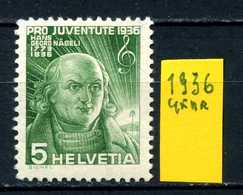 SVIZZERA - HELVETIA - Year 1936 - Viaggiato - Traveled - Voyagè - Gereist. - Gebruikt