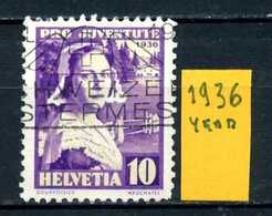 SVIZZERA - HELVETIA - Year 1936 - Viaggiato - Traveled - Voyagè - Gereist. - Schweiz