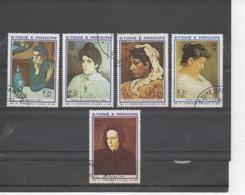 """SAINT-THOMAS Et PRINCE -  PICASSO : Portraits De Femmes """"Portrait De Lola"""", """"La Tante Pepa"""" """"Portrait De La Mère"""", - Picasso"""