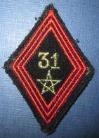 Losange Mod.1945- 31° Bataillon Du Génie - Armée De Terre