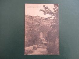 CPA 06 VILLAGE DE CASTILLON STATION ET TUNNEL DU TRAMWAY - Autres Communes