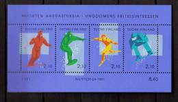 Finlande 1991 Bloc N°8 Sport D'hiver - Finlande