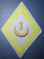 Losange Mod.1945- 1° Tirailleurs - Armée De Terre