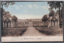 Carte Postale 59. Seclin  Hospice  Très Beau Plan - Seclin