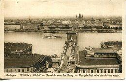 006010  Budapest - Kilátás A Várból  1912 - Ungarn