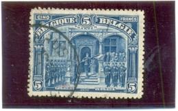 1915 BELGIQUE Y & T N° 147 ( O ) Série Albert I - 1f FRAANKEN - 1915-1920 Albert I