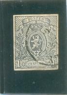 1866  BELGIQUE Y & T N° 22 ( O ) Petit Lion - 1866-1867 Coat Of Arms