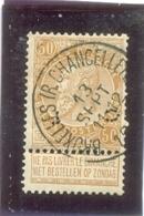1893  BELGIQUE Y & T N° 62 ( O ) Fine Barbe - 1893-1900 Thin Beard