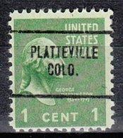 USA Precancel Vorausentwertung Preo, Locals Colorado, Platteville 704 - Vereinigte Staaten