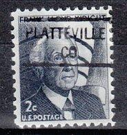 USA Precancel Vorausentwertung Preo, Locals Colorado, Platteville 841 - Vereinigte Staaten