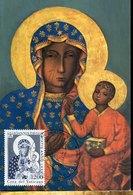 42699 Vaticano, Maximum 2000 Icon Of The Black  Madonna And Child Of Czestoshowa - Cartas Máxima