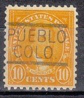 USA Precancel Vorausentwertung Preo, Locals Colorado, Pueblo 562-547 - Vereinigte Staaten